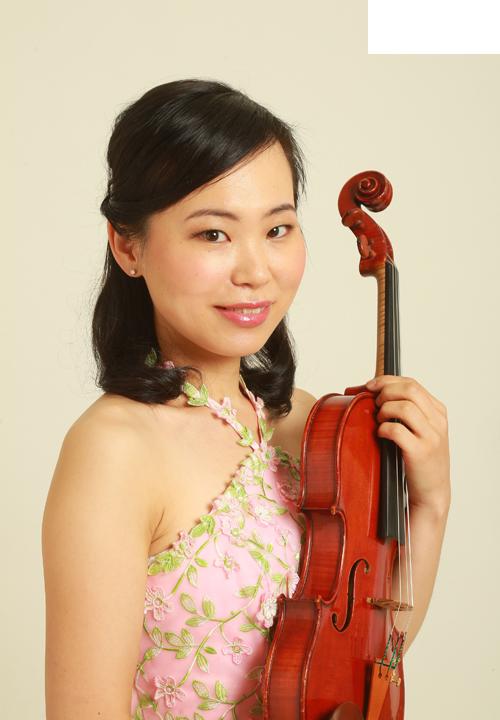 ヴァイオリン奏者 松岡春佳